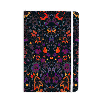 "Nikki Strange ""Bali Tapestry"" Dark Everything Notebook"