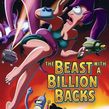 Futurama: The Beast with a Billion Backs 27x40 Movie Poster (2008)