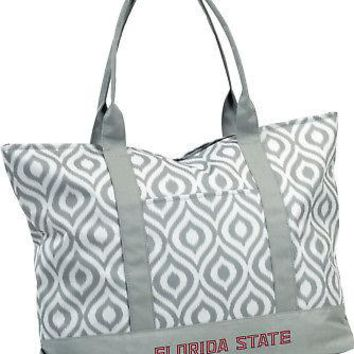 Licensed Florida State Seminoles Official NCAA Ikat Tote by Logo Chair Inc. 056829 KO_19_1