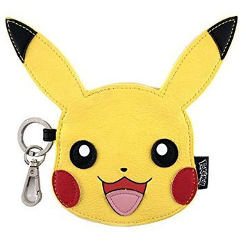 Loungefly x Pokemon Pikachu Face Coin Bag Purse