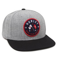 Hurley The Mac Snapback Hat - Mens Backpack - Grey - One
