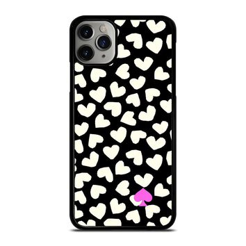 KATE SPADE LOVE HEART POLKADOTS iPhone Case Cover