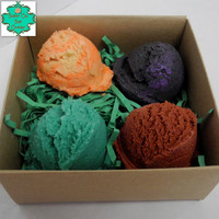Bath Truffles Variety Pack - Set of 4 - Bubble Bath, Bath Bomb, Bath Melt, All In One, Sampler Pack