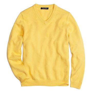 V-Neck Sweater - Brooks Brothers