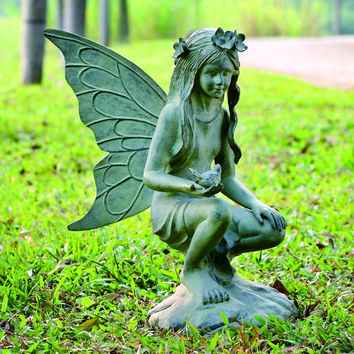 SPI Garden Collection Fairy Garden Sculpture