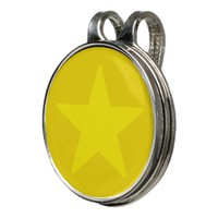 Yellow Star Hat Clip And Ball Marker