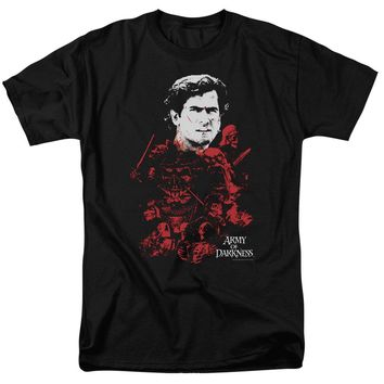 Mgm - Army Of Darkness - Pile Of Baddies Short Sleeve Adult 18/1 Shirt Officially Licensed T-Shirt