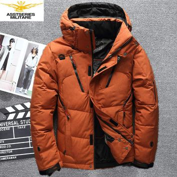 2017 winter High Quality 90% White Duck Down Jacket men coat Snow wellestern parkas male Warm Brand Clothing Down Jacket