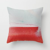 what remained Throw Pillow by duckyb