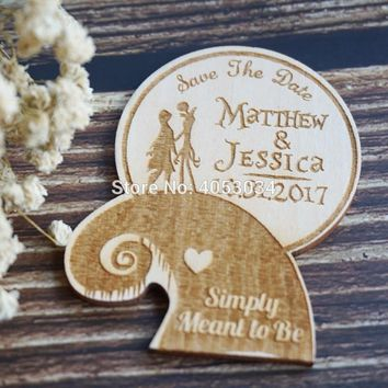 Nightmare Before Christmas Wedding-Nightmare Before Christmas Save the Date-Jack and Sally Save the Date