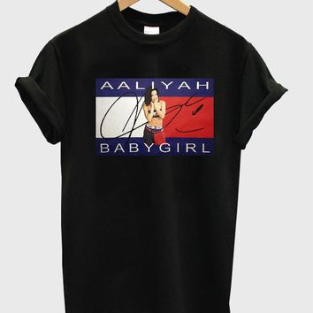 Aaliyah Babygirl Custom Men's Gildan Adult T-Shirt