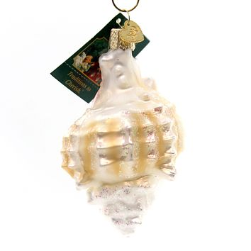 Old World Christmas Mexican Shell Glass Ornament