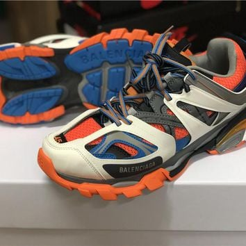 Balenciaga Track 3.0 Beige/Orange/Blue Sneaker 36-45