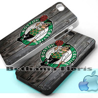 Boston-Celtics-NBA-Team-Logo - Print on hardplastic for iPhone 4/4s and 5 case, Samsung Galaxy S3/S4 case.