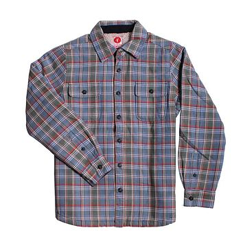 Grizz Plaid Sherpa Lined Jacket by Toes on the Nose - FINAL SALE