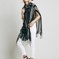 Free People Womens Katie Cowl Poncho