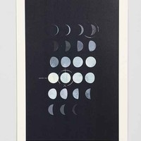 Paul Tebbott Must Be The Moon Art Print