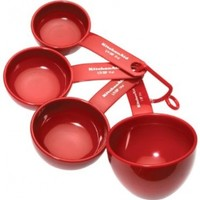 KitchenAid Measuring Cups (Red, Set Of 4)