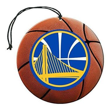 Golden State Warriors NBA Air Freshener 3 Pack Set Vanilla Scent Auto Car