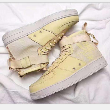 Nike SF Air Force 1 Mid QS High quality Sports shoes High-tops H-PSXY
