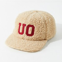 UO Furry Baseball Hat | Urban Outfitters