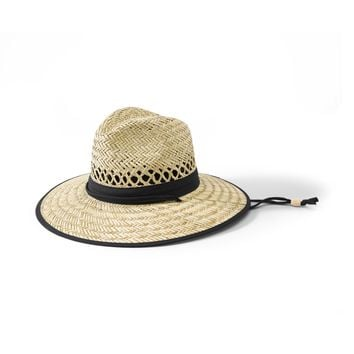 Men's Rush Straw Outback Hat (RSM540OSNBR)