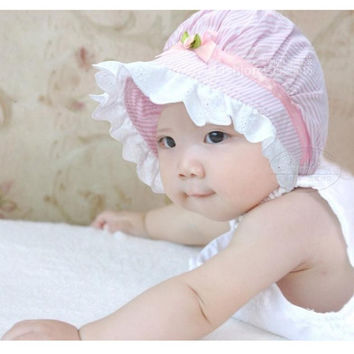 Baby Bow Lace Hat