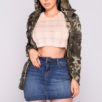Battle Of Love Camo Jacket - Camo