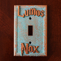 Lumos - Nox Wizardly Light Switch Cover