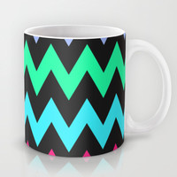 Zigzag #4 Mug by Ornaart