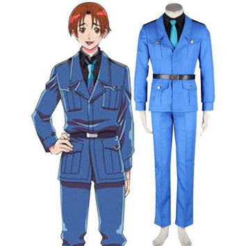 Modern Axis Powers Hetalia Cosplay Costume Outfit