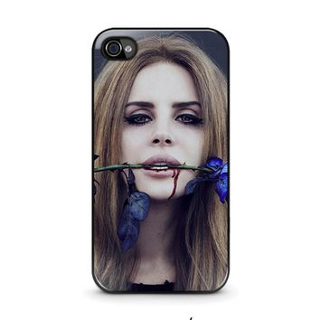 lana del rey iphone 4 4s case cover  number 1