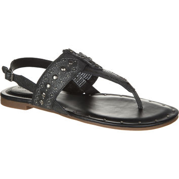 Ariat Quartz Sandal - Women's Black Crinkle,