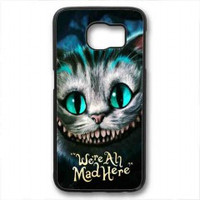 Chesire Cats Smile for samsung galaxy s6 case