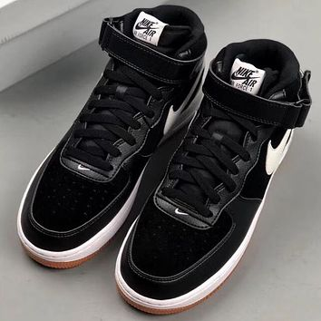 Trendsetter Nike Air Force 1 Mid '07 Women Men Fashion Casual Old Skool Shoes