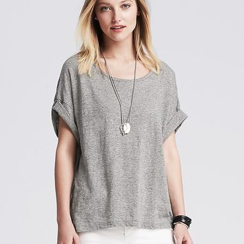 Banana Republic Womens V Back Tee