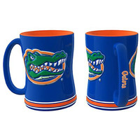 Florida Gators NCAA Coffee Mug - 15oz Sculpted (Single Mug)
