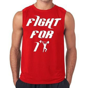 Fight For It Men's Sleeveless T-Shirt