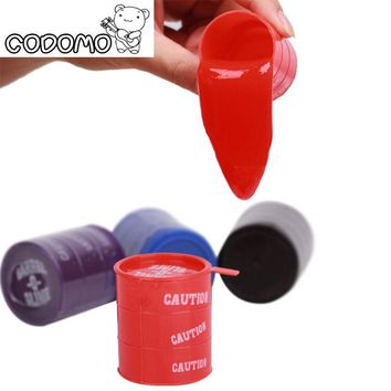 Barrel o Slime color toy for adults 2017 New Fun Slime Sand gelatin Paint bucket relieve stress Keyboard Cleaning slime Oyuncak