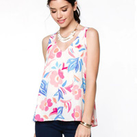 Famously Floral Tank Top