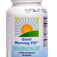 The Good Morning Pill | Energy Vitamin Supplement to Increase Focus, Replace Energy Drinks, Shots & Coffee (60 Capsules)
