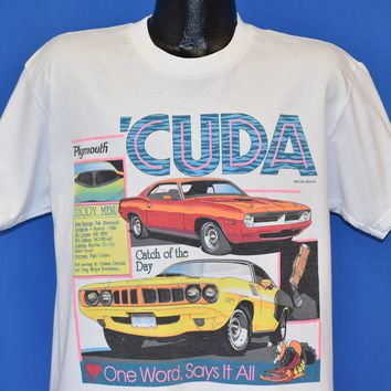 90s Plymouth Barricuda t-shirt Large