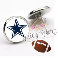 Dallas Cowboy Earrings
