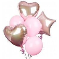 Celebrate Pink for Breast Cancer Awareness: Balloons - A gift of cheer and best wishes.