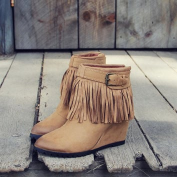 Big Sky Fringe Booties