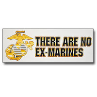 """There Are No Ex-Marines"" Decal"