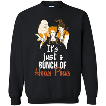 It's Just A Bunch Of Hocus Pocus T-Shirt Funny Witch Tee t-shirt