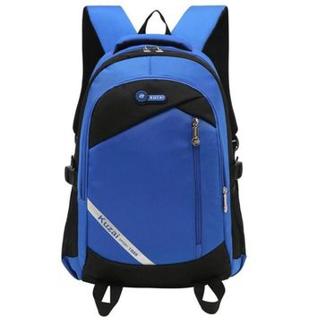 Casual Daypacks Backpack Large Capacity Student School Bags Middle School Student Men Travel Backpack For Teenagers P180