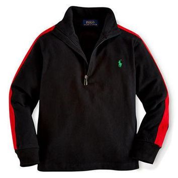 Ralph Lauren Childrenswear Boys 2-7 Half Zip Pullover