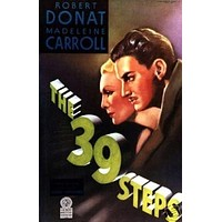 THE 39 Steps Movie Poster Alfred Hitchcock Vintage 2